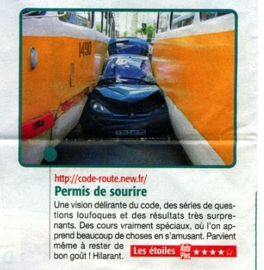 article d'auto plus